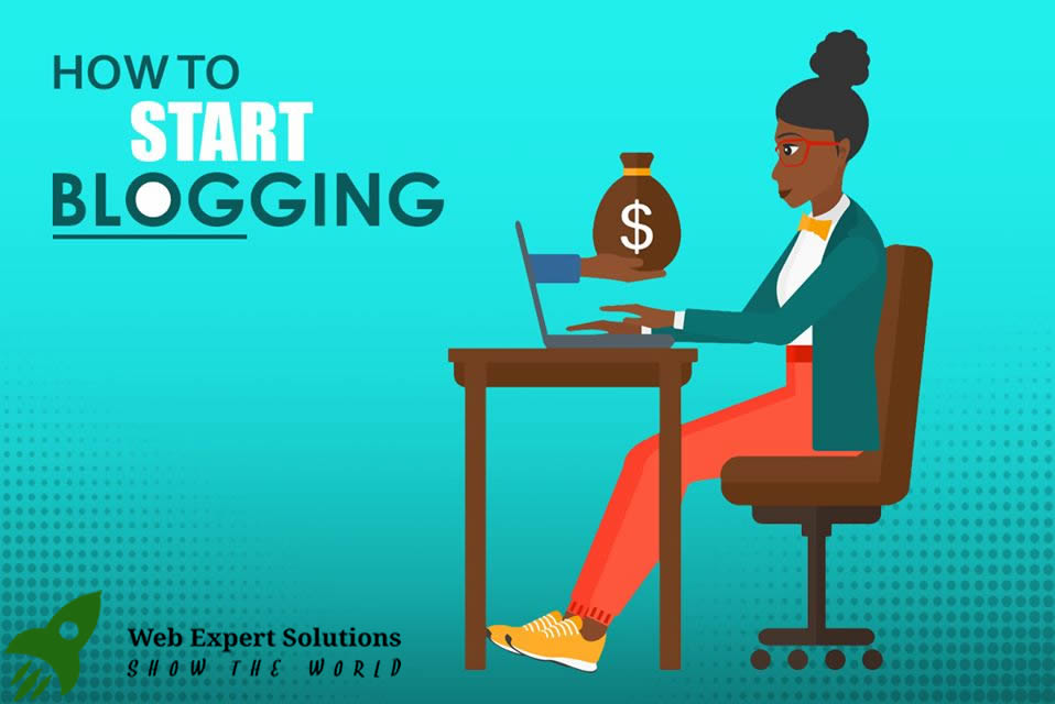 How to start blog & make income from it